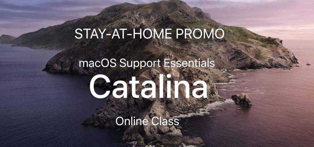 LAI STAY-AT-HOME actie: Apple macOS Support Essentials 10.15