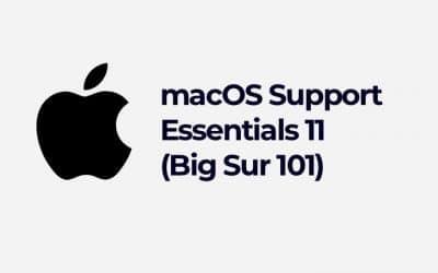 macOS Support Essentials 11 (Big Sur 101) (APL-MAC101-111)