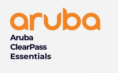 Training Aruba ClearPass Essentials (0001130183)
