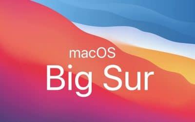 macOS Big Sur training