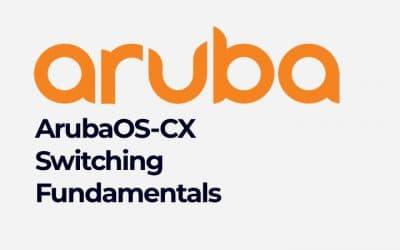ArubaOS-CX Switching Fundamentals (01126291)