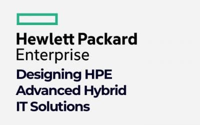 Designing HPE Advanced Hybrid IT Solutions (01123303)